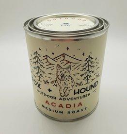 Fox & Hound Fox + Hound Outdoor Adventures National Parks Acadia Coffee