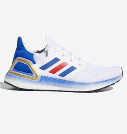 ADIDAS ULTRABOOST 20 CLOUD WHITE / ROYAL BLUE / SCARLET FY9039