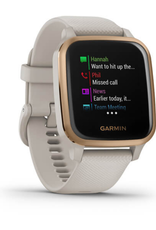 GARMIN VENU SQ, NFC, MUSIC,SAND/ROSE