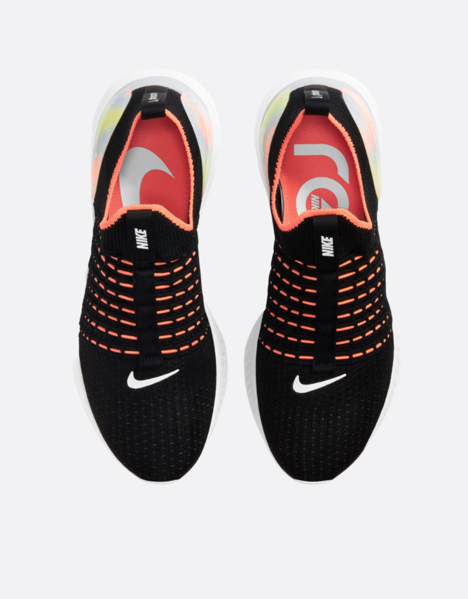 NIKE Nike React Phantom Run Flyknit 2 WIT/MLT-CLR MANGO