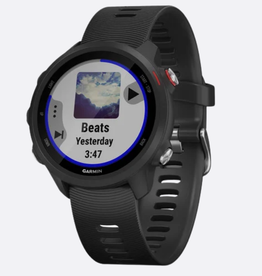 GARMIN FORERUNNER 245 MUSIC, GPS, WI-FI, BLK/RED