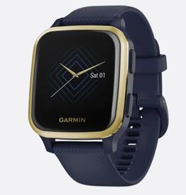 GARMIN VENU SQ,NFC, MUSIC,NAVY/GOLD