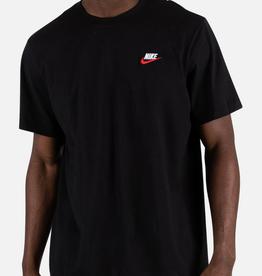 NIKE Sportswear Club BLACK/WHITE/UNIVERSITY RED