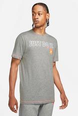 NIKE Nike Sportswear DK GREY HEATHER/TOTAL ORANGE XS