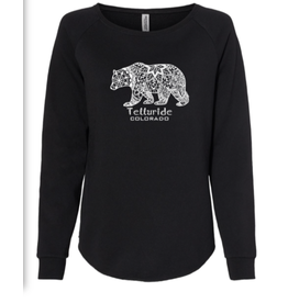 BLACK ANCHOR #951O MANDALA BEAR SWT