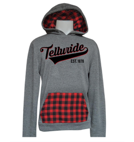BREW CITY #901 BUFFALO PLAID HOOD
