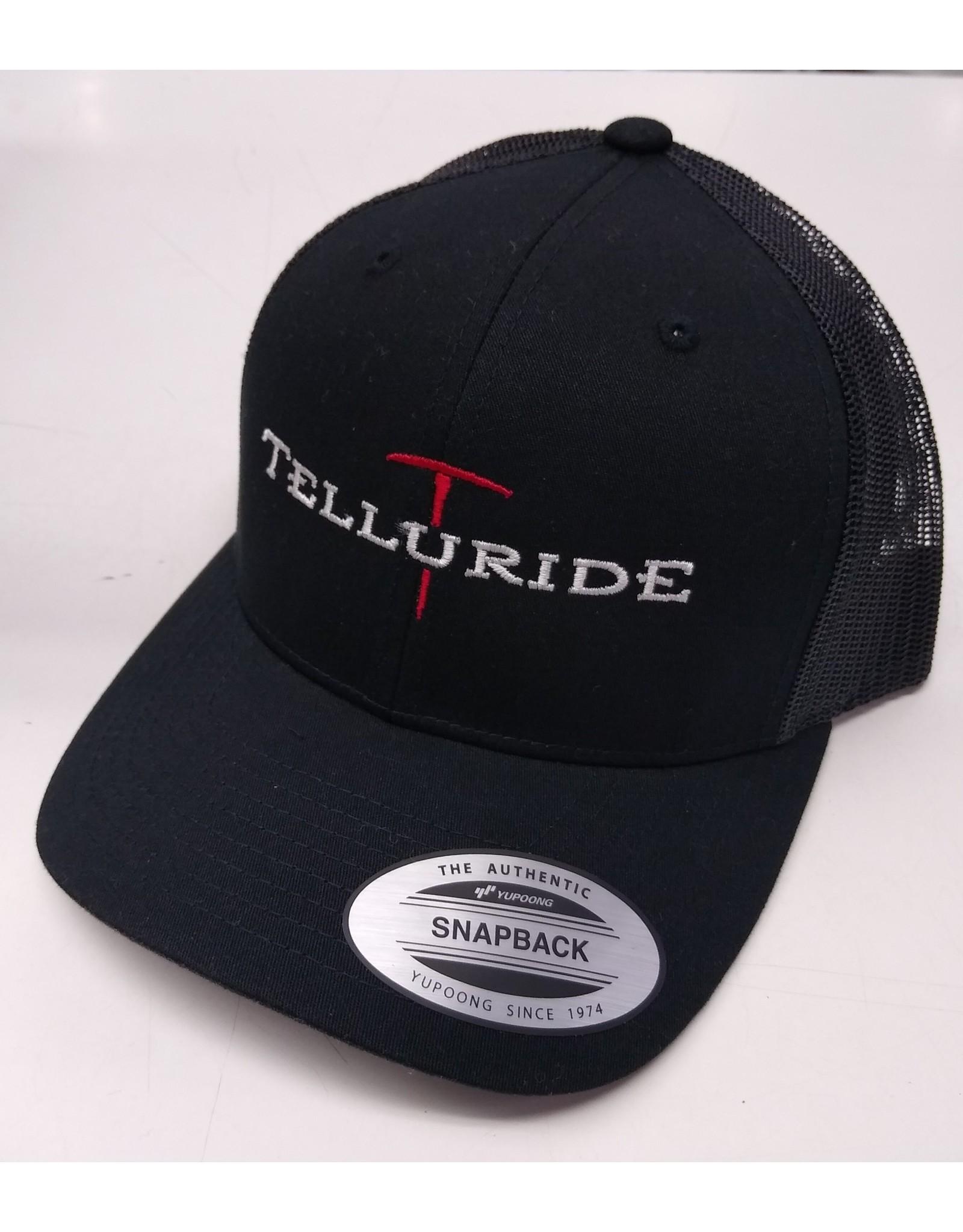 4IMPRINT YUPOONG TRUCKER HAT BLACK 136730 PICK AXE