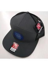 RICHARDSON CAP 168 HAT CHARCOAL/BLACK CL210