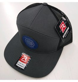 RICHARDSON CAP 168 HAT CHARCOAL/BLACK CL210