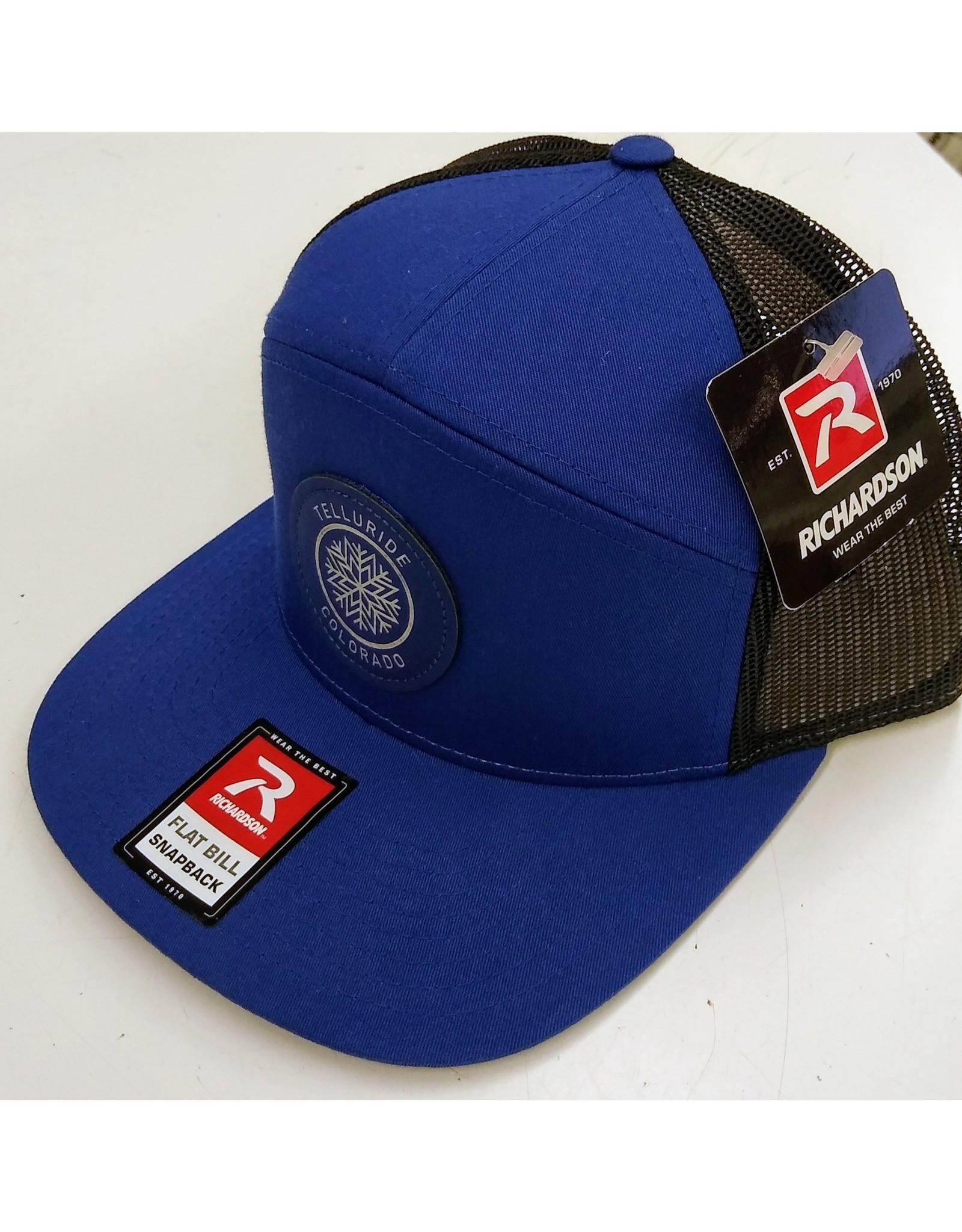 RICHARDSON CAP 168 HAT ROYAL/BLACK CL120