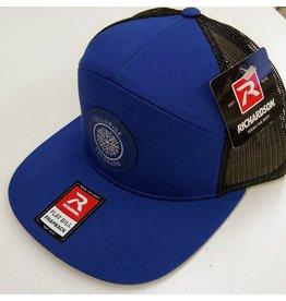RICHARDSON CAP 168 HAT ROYAL/BLACK CL210