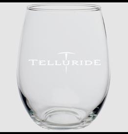 DISCOUNT MUGS PICK AXE WINE GLASS