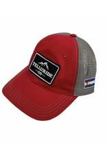 RICHARDSON CAP 111 GARMENT WASHED TRUCKER HAT
