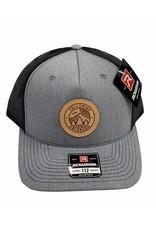 RICHARDSON CAP 112FP HAT GREY/BLACK CL130