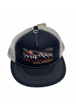 OURAY 382367 ICELINE TRAIL HAT 51314 NAVY/NATURAL