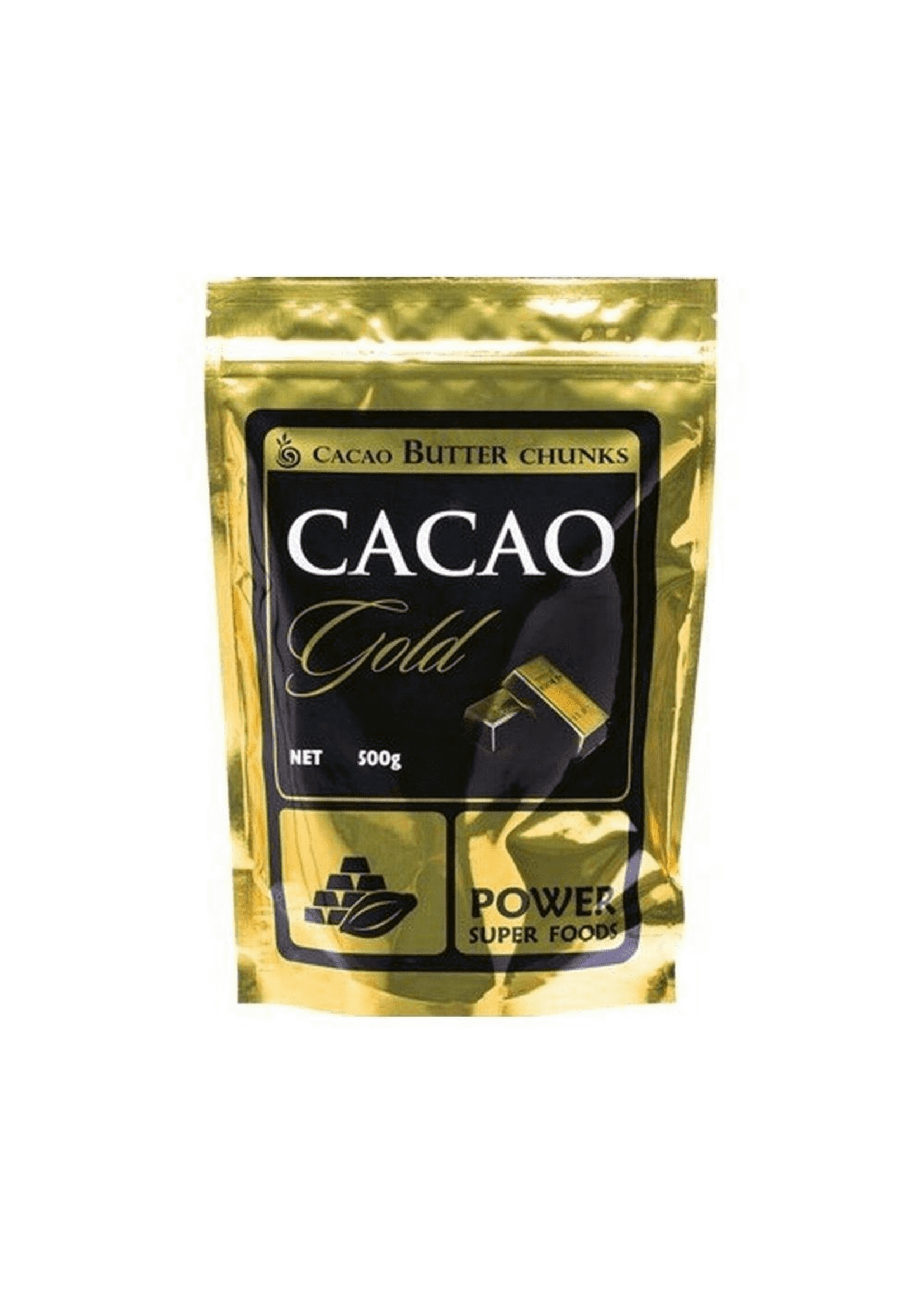 POWER SUPER FOODS Power Super Foods Cacao gold Butter Chunks 500 g