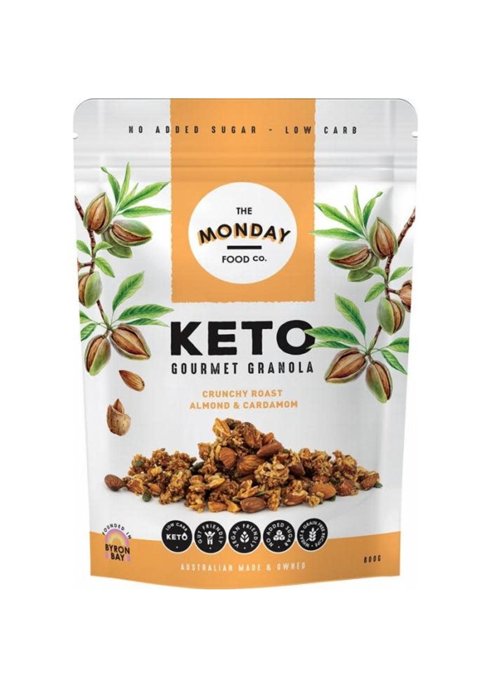 The Monday Food Co. The Monday Food Co. Keto Gourmet Granola Crunchy Roast Almond & Cardamom 300g