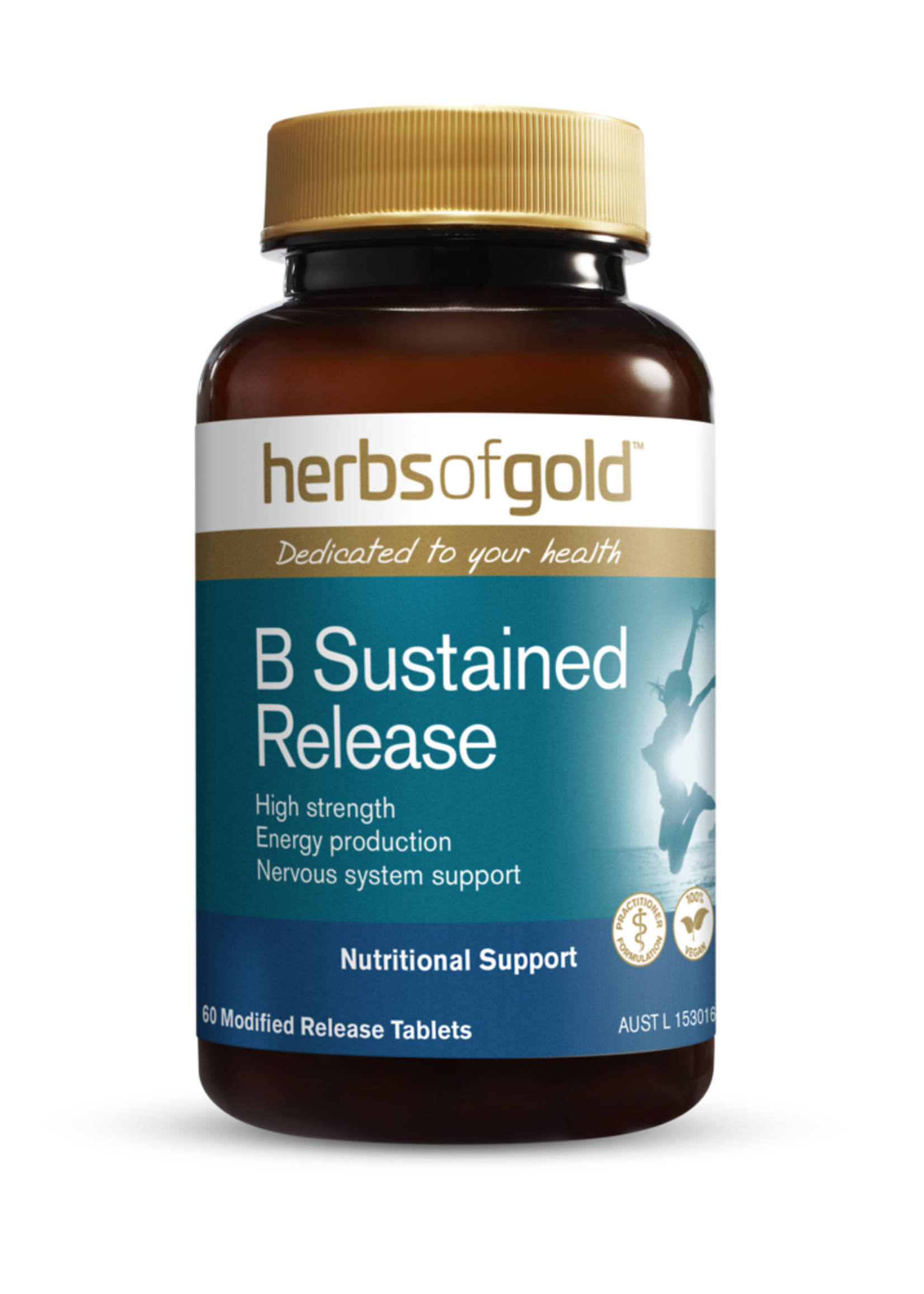 Herbs of Gold Herbs of gold B Complete Sustained Release 60 tabs