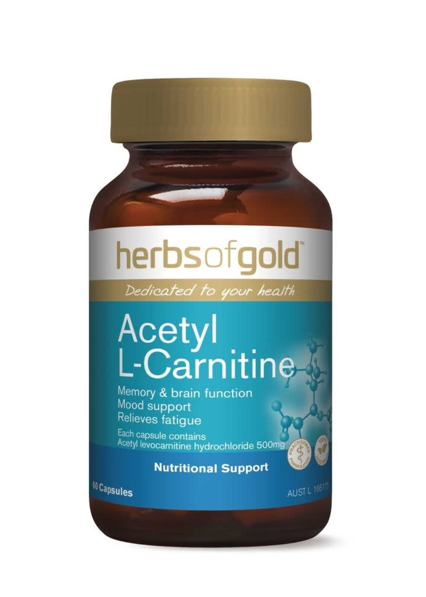 Herbs of Gold Herbs of Gold Acetyl L-Carnitine 60 caps