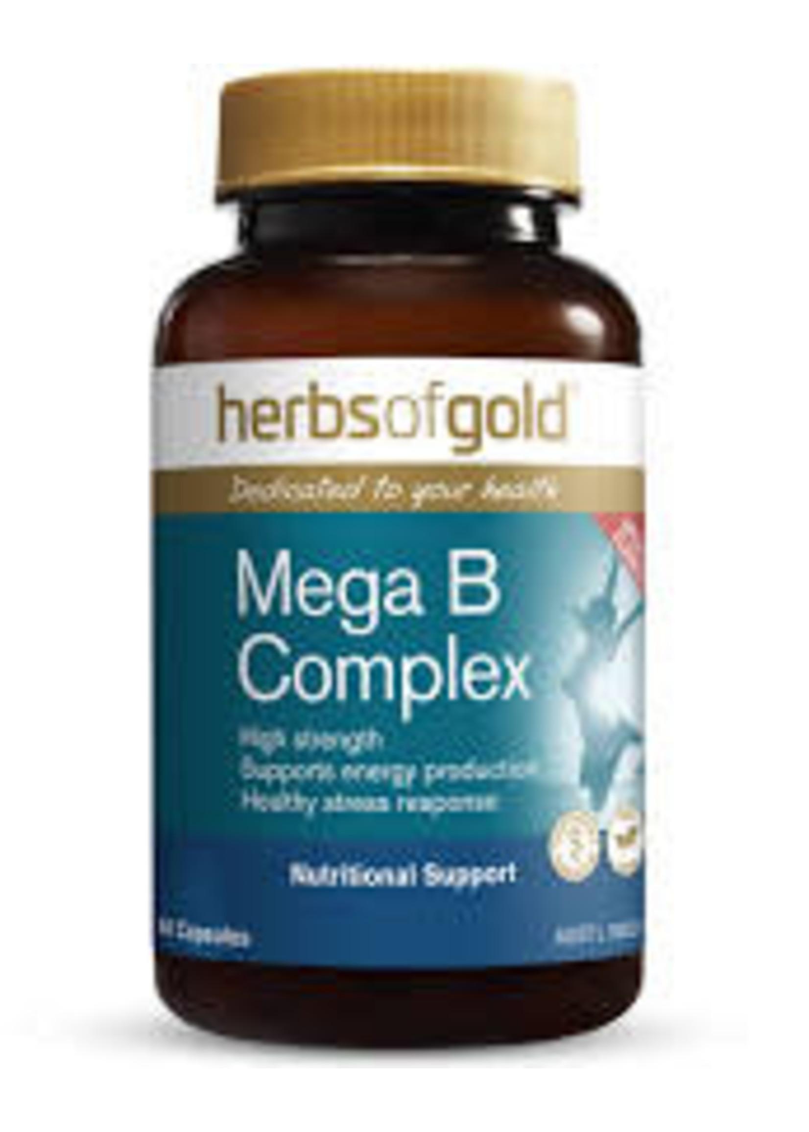 Herbs of Gold Herbs of Gold Mega B Complex 60 caps