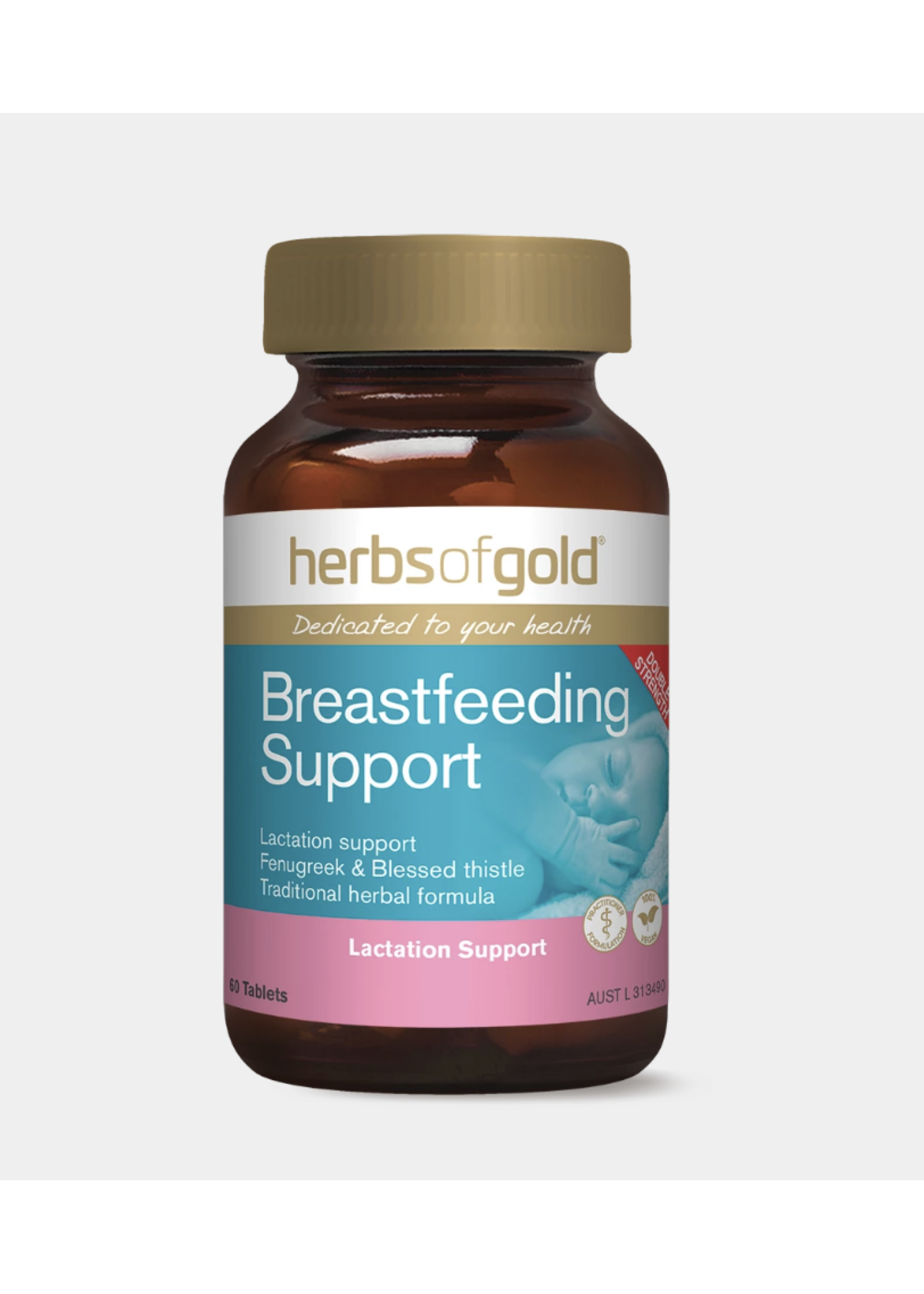 Herbs of Gold Herbs of Gold Breastfeeding Support 60 tabs