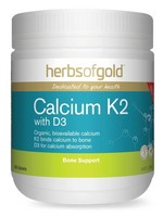 herbs of old Herbs of gold Calcium K2 with D3 90tabs