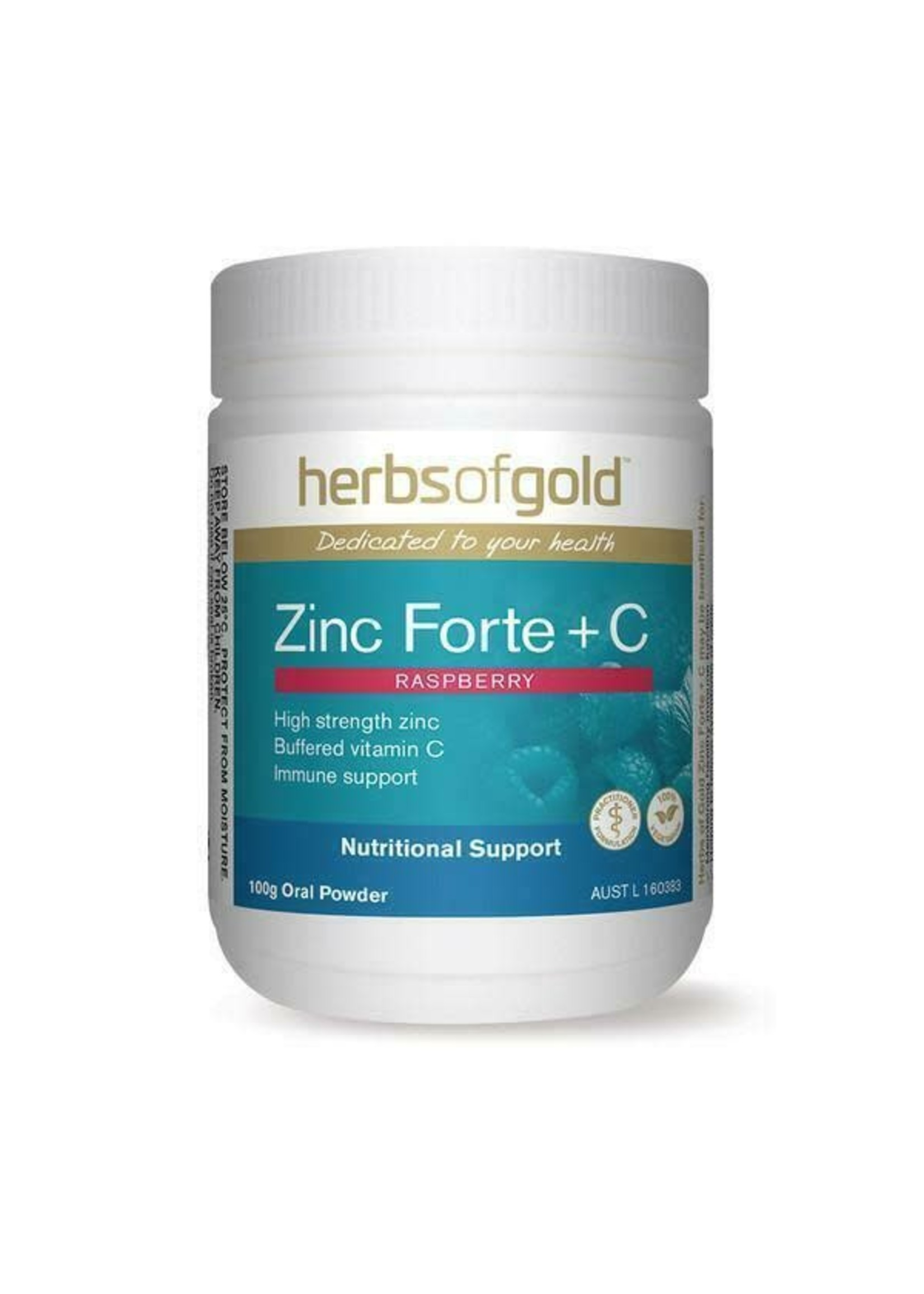 Herbs of Gold Herbs of gold Zinc Forte  + C 100g