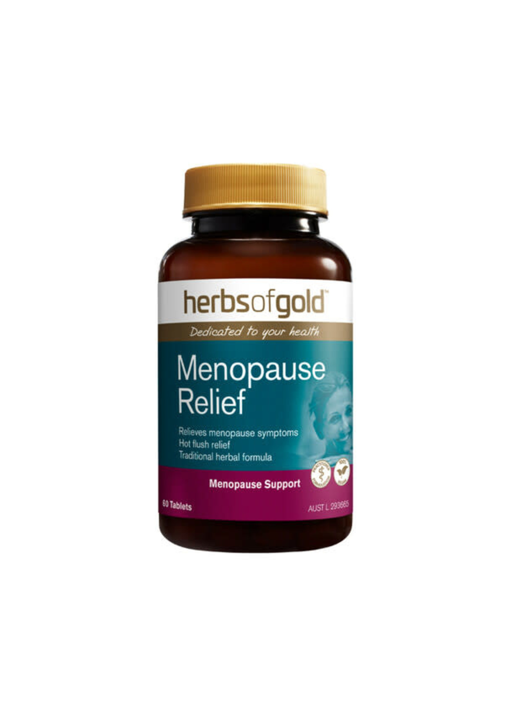 Herbs of Gold Herbs of Gold Menopause Relief 60 tabs
