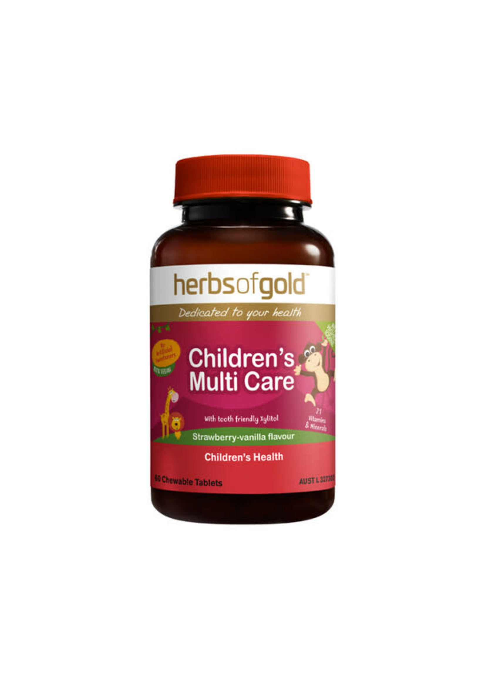 Herbs of Gold Herbs of Gold Children's Multi Care ( Chewable) 60 tabs