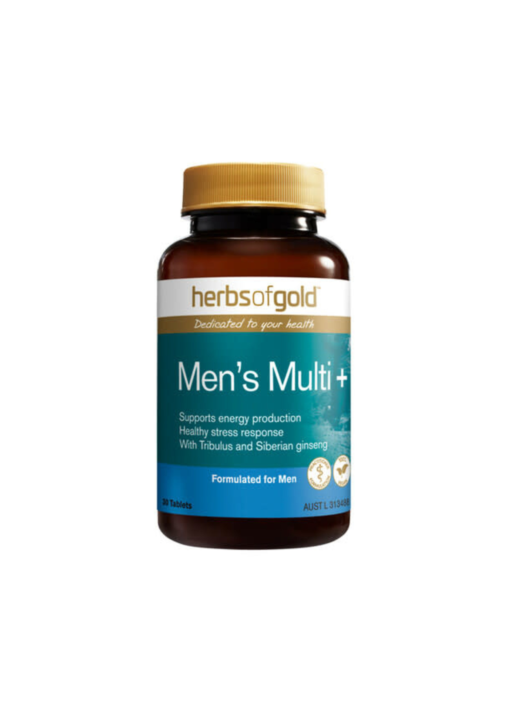Herbs of Gold Herbs of gold Men's Multi + 30 tabs