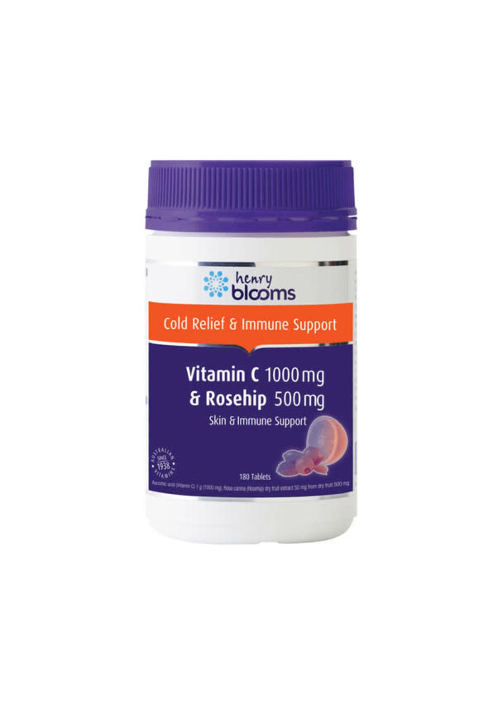 Blooms Blooms Vitamin C 1000mg + Rosehip 500mg 180 tablets