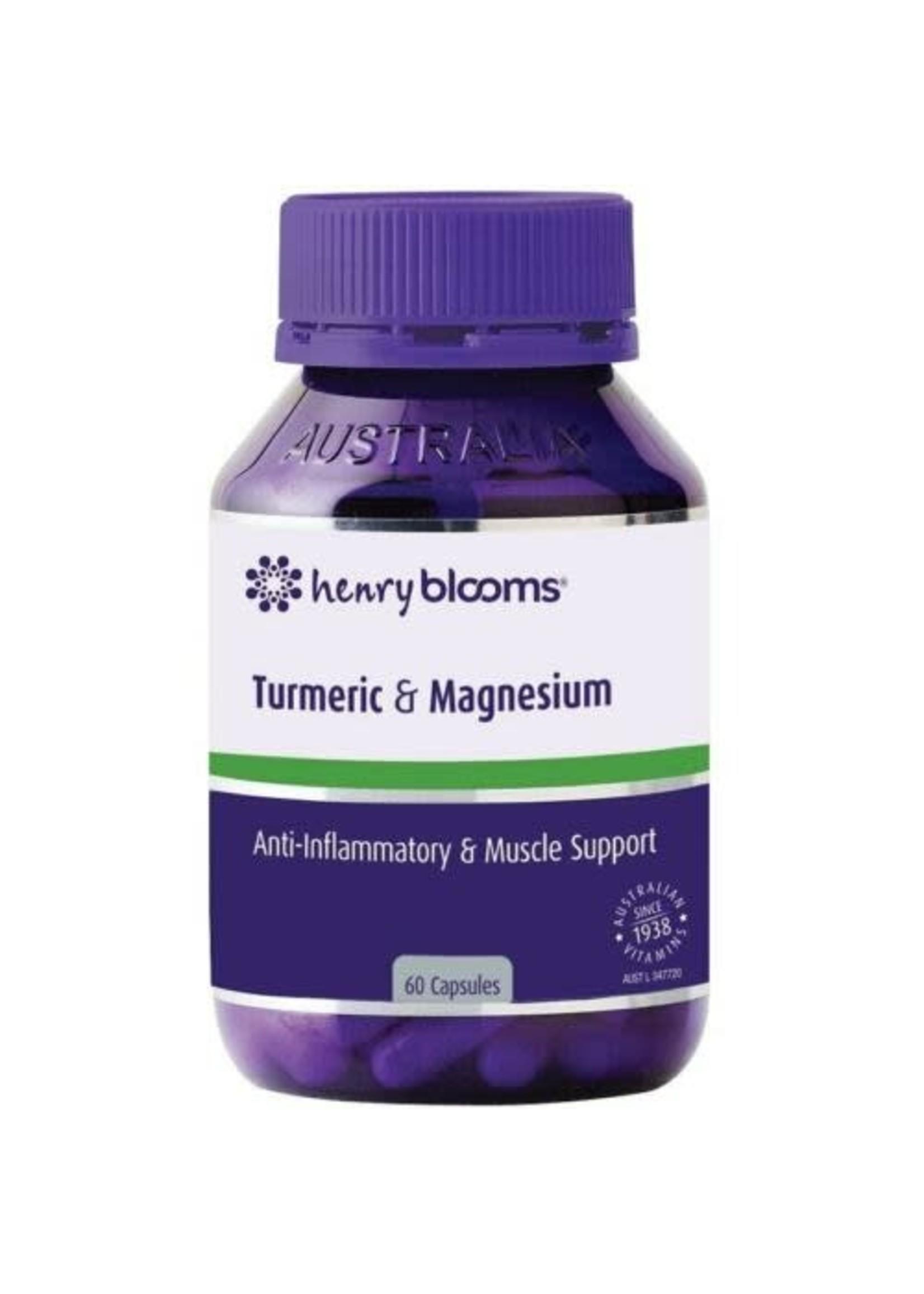 Bloom's Blooms Turmeric & Magnesium 60 caps