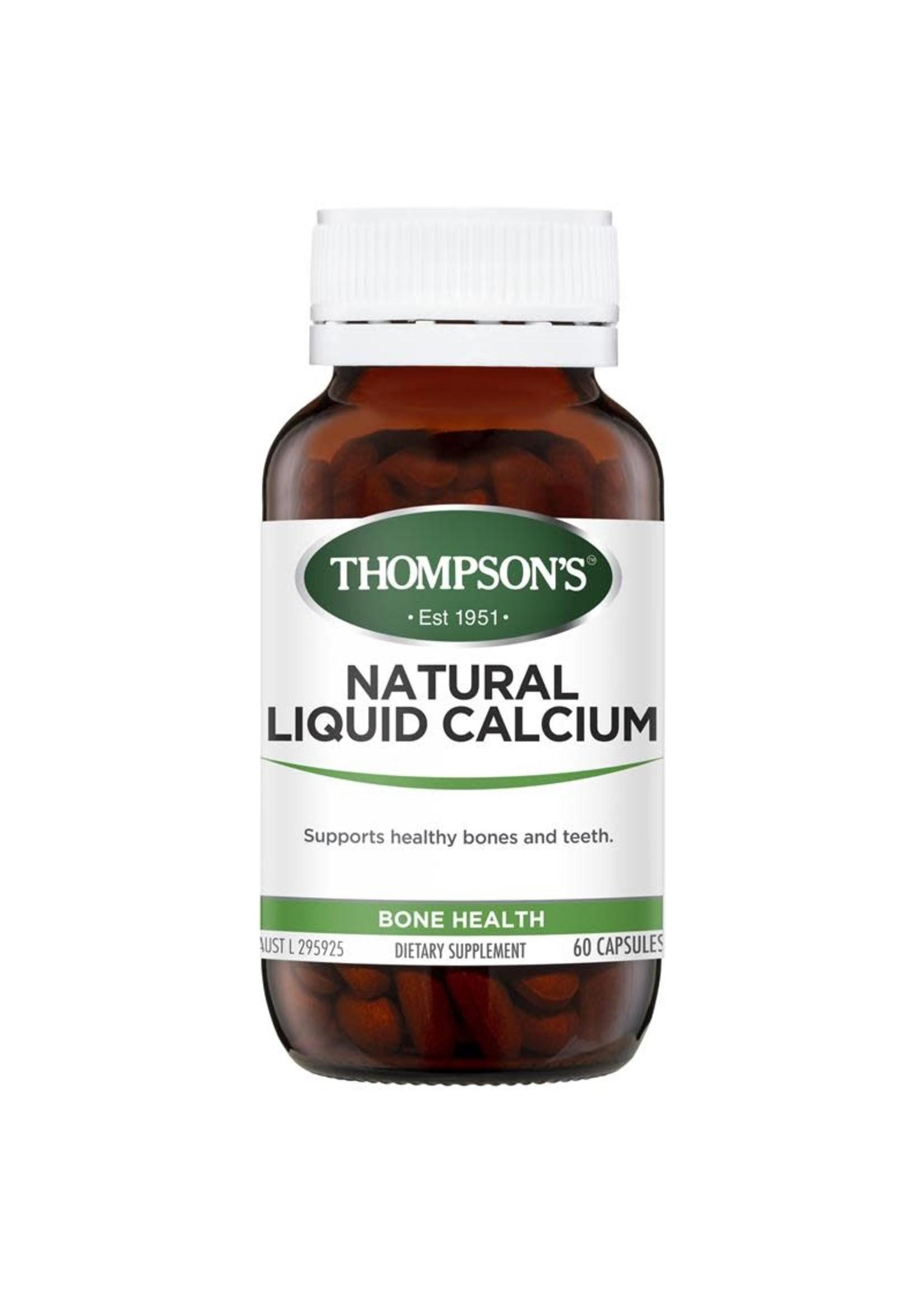 Thompson's Thompson's Natural Liquid Calcium 60 caps