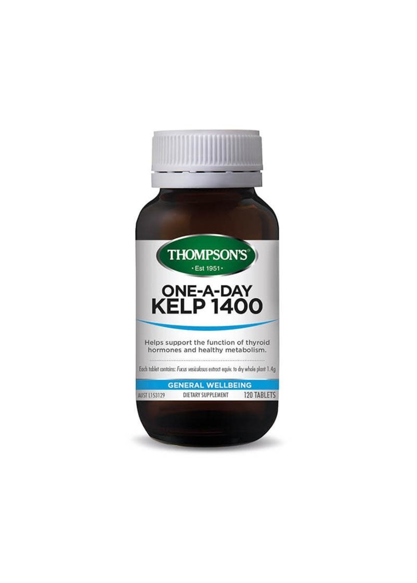 Thompsons Thompsons one-a-day Kelp 1400 120 tabs