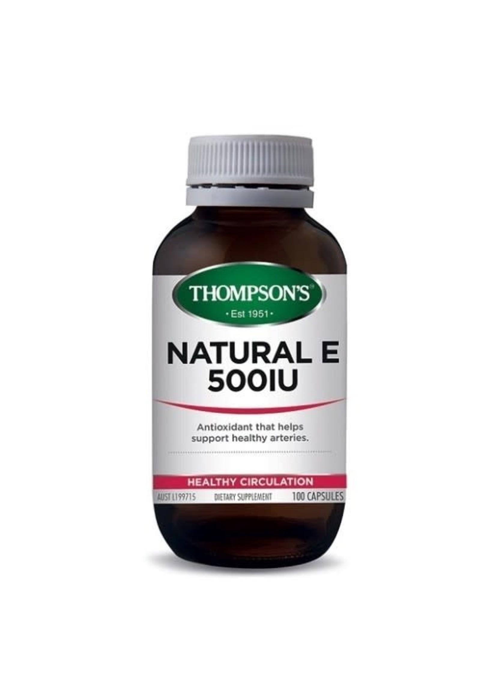 Thompson's Thompson  Natural E 500 100 capsules