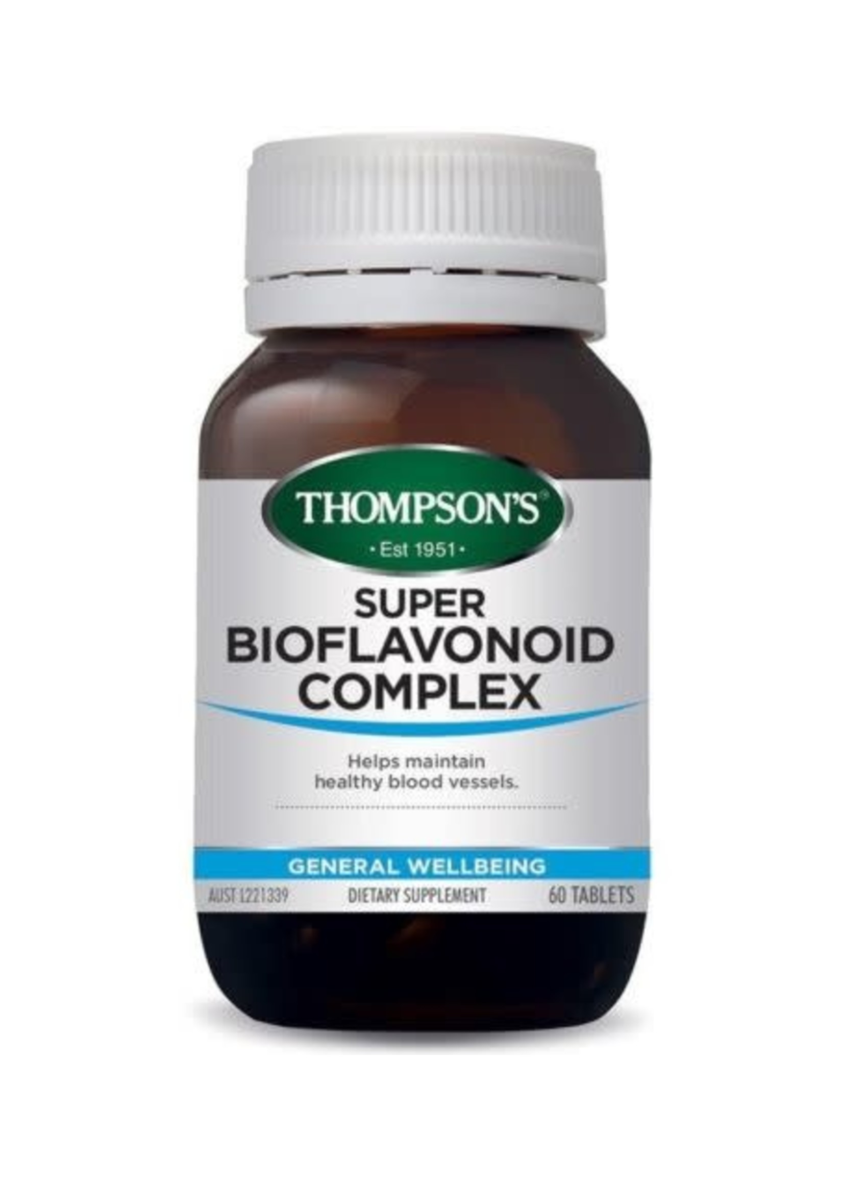 Thompsons THOMPSONS SUPER BIOFLAVONOID COMPLEX 60 TABLETS
