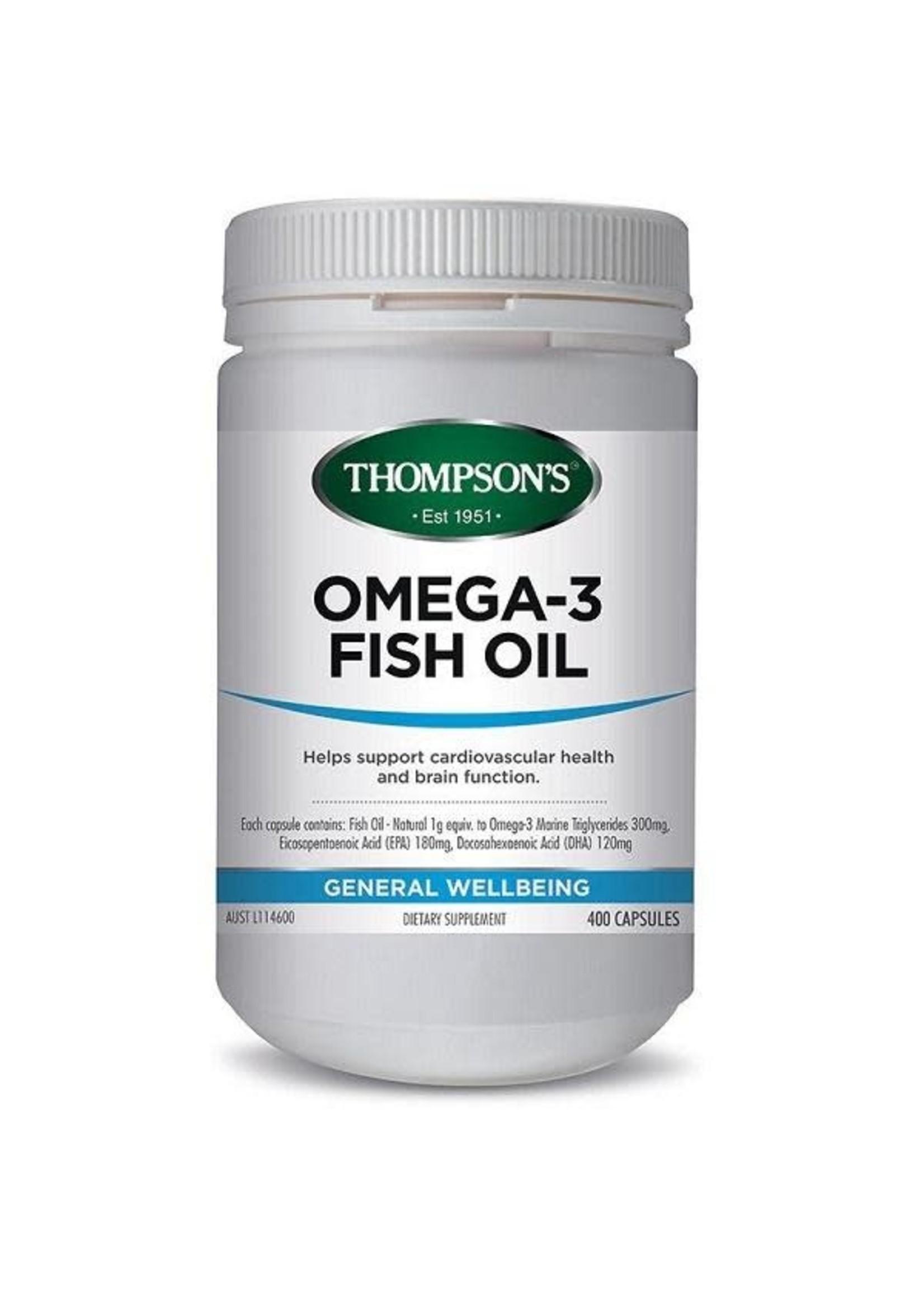 Thompson's Thompsons Omega-3 Fish Oil 400caps