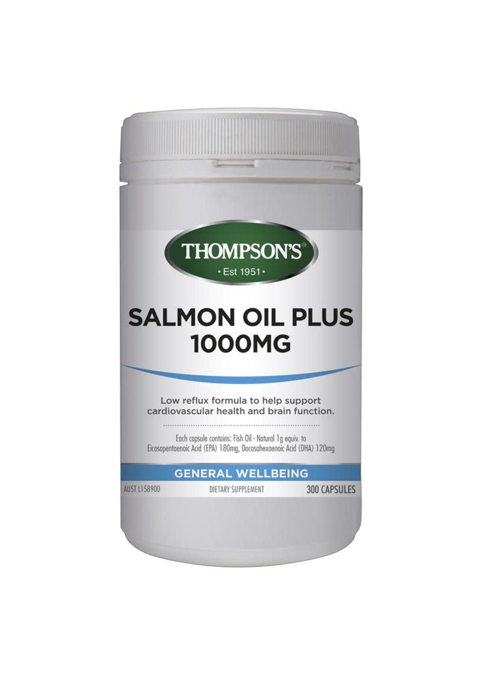 Thompson's Thompsons Salmon Oil Plus 1000mg 300 caps