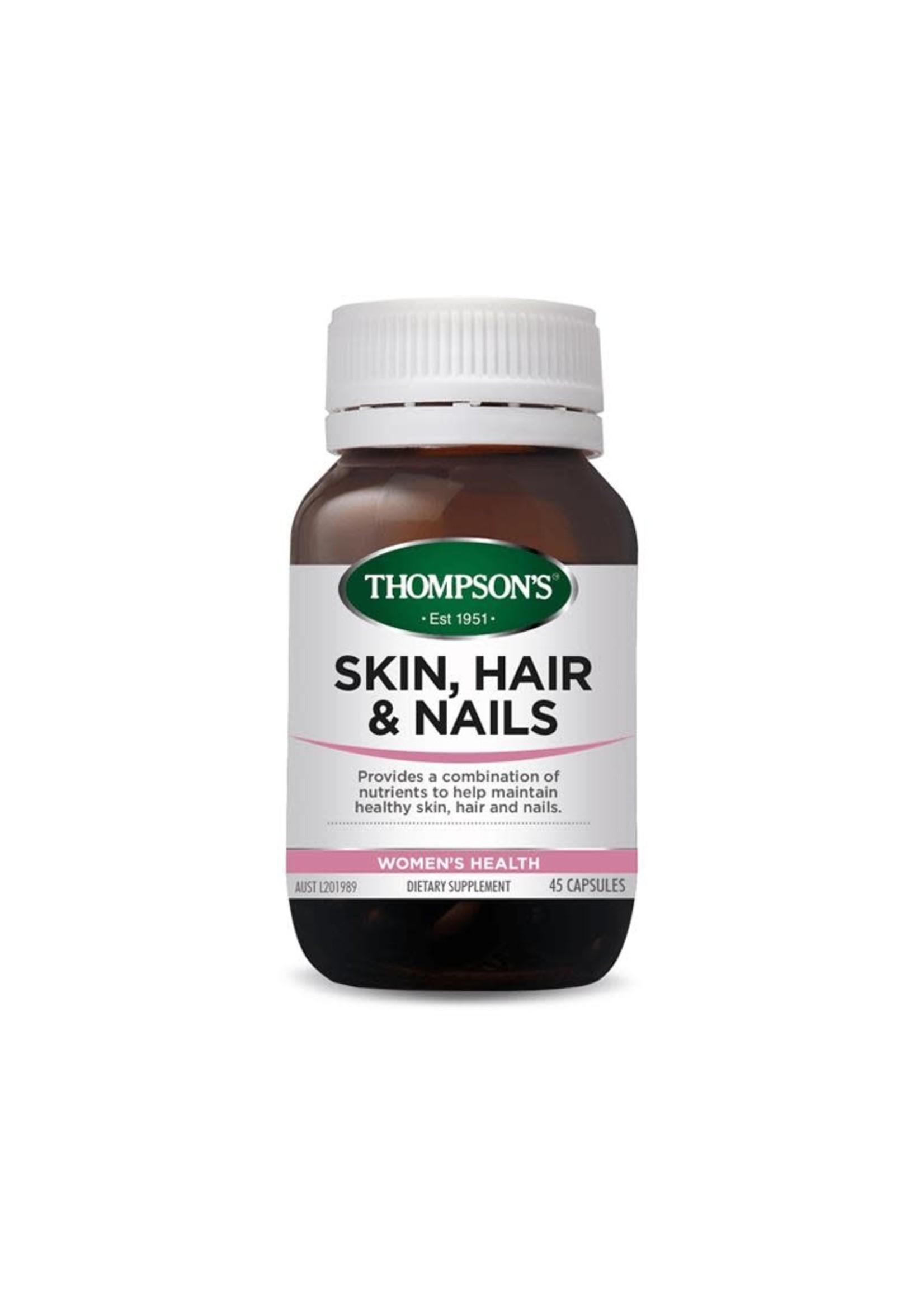 Thompson's Thompsons Skin Hair Nails 45 caps