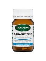 Thompson's Thompsons Organic Zinc 80 tabs