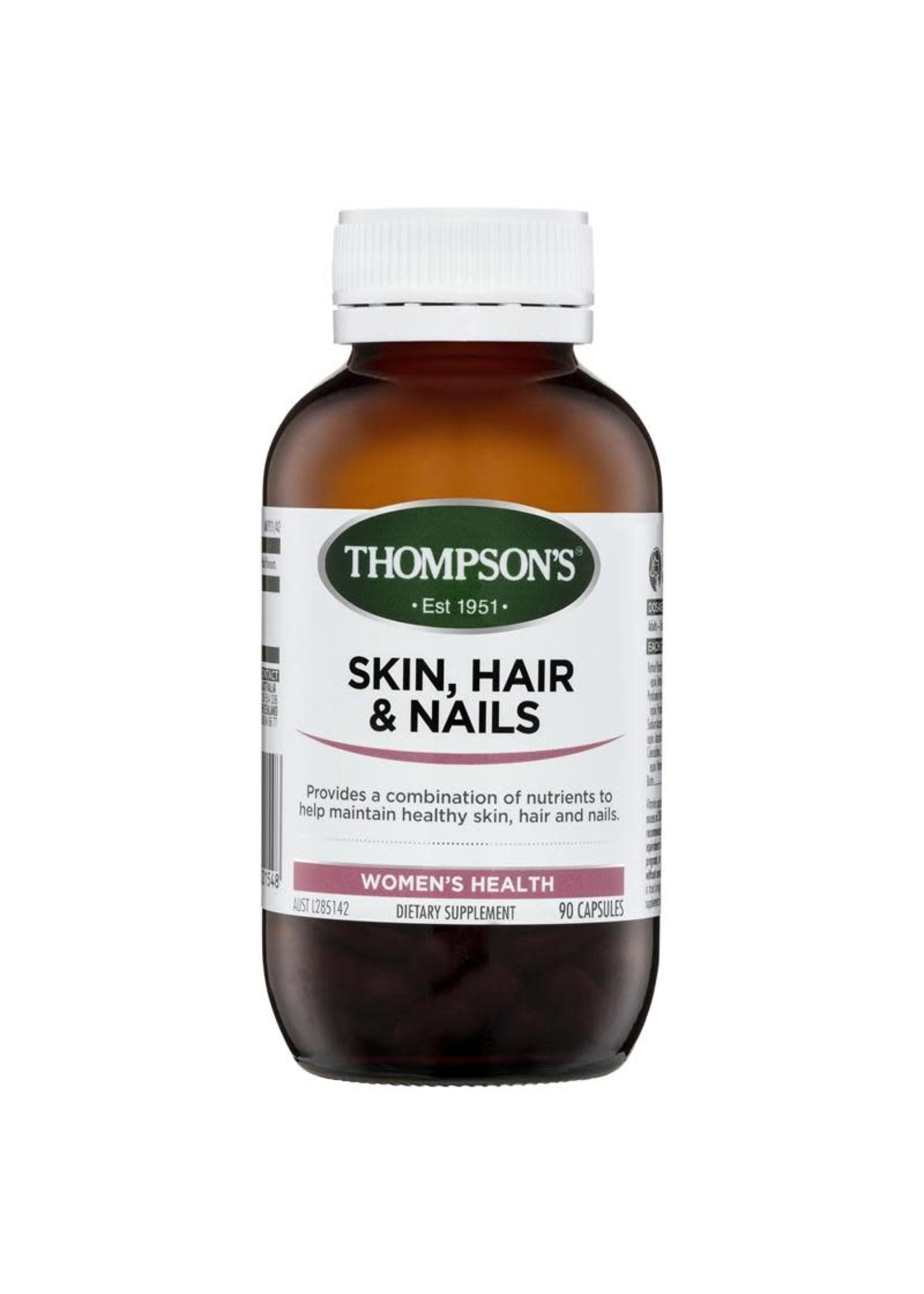 Thompson's Thompsons Skin, Hair & Nails 90 caps