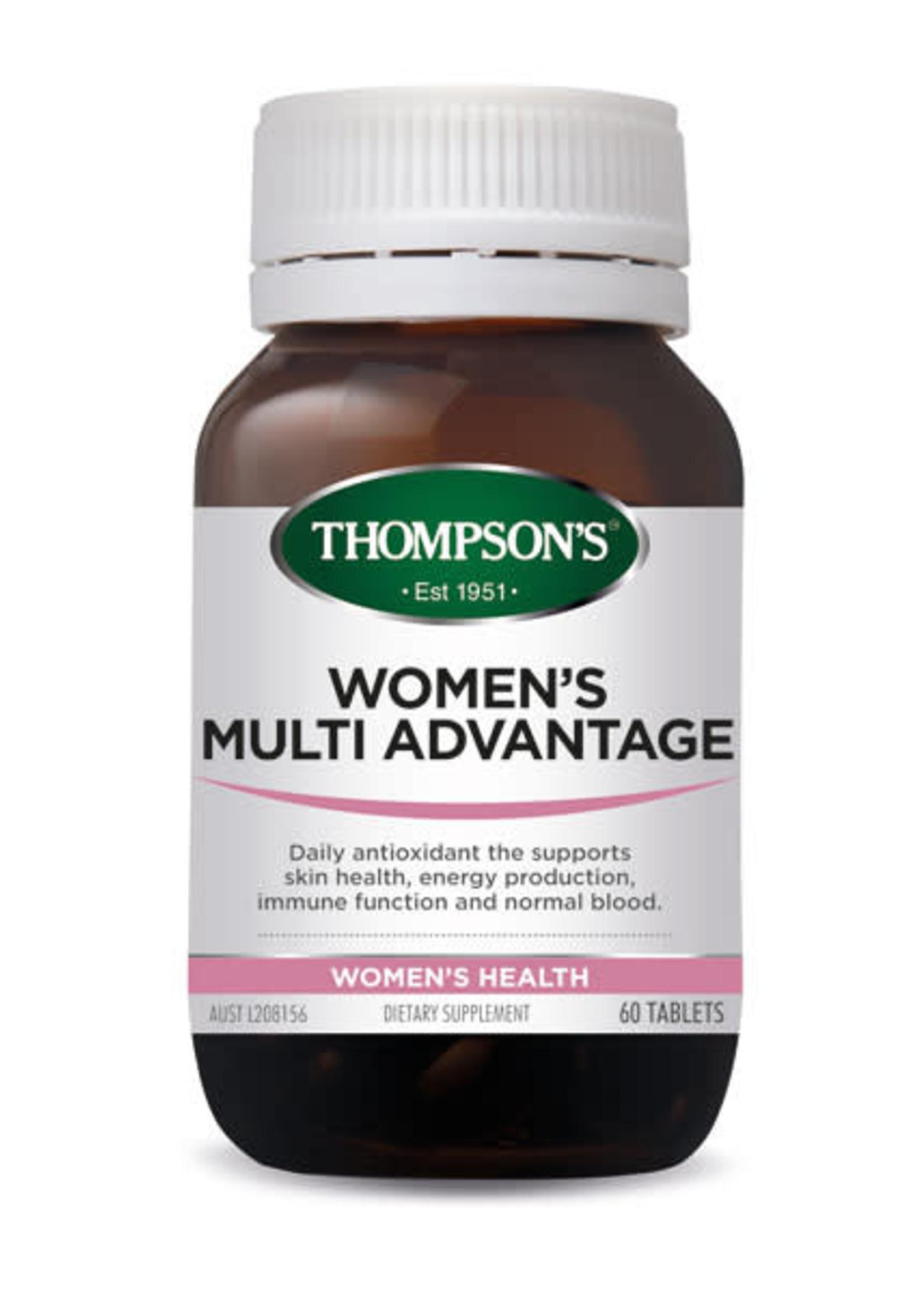 Thompsons Thompsons Womens Multi Advantage 60 tabs