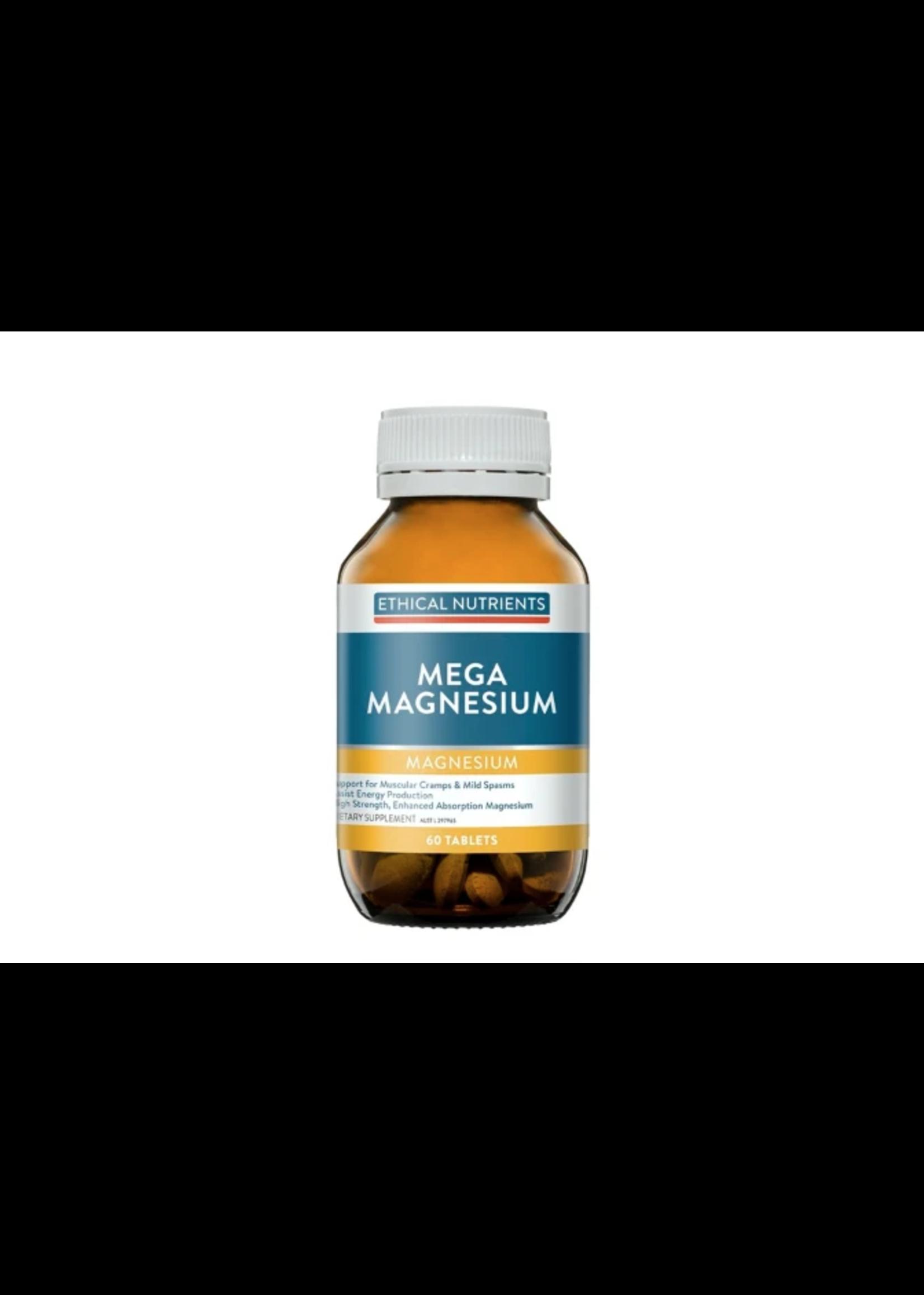 ethical metagenics Ethical Nutrients Mega Magnesium 60 tabs megazorb