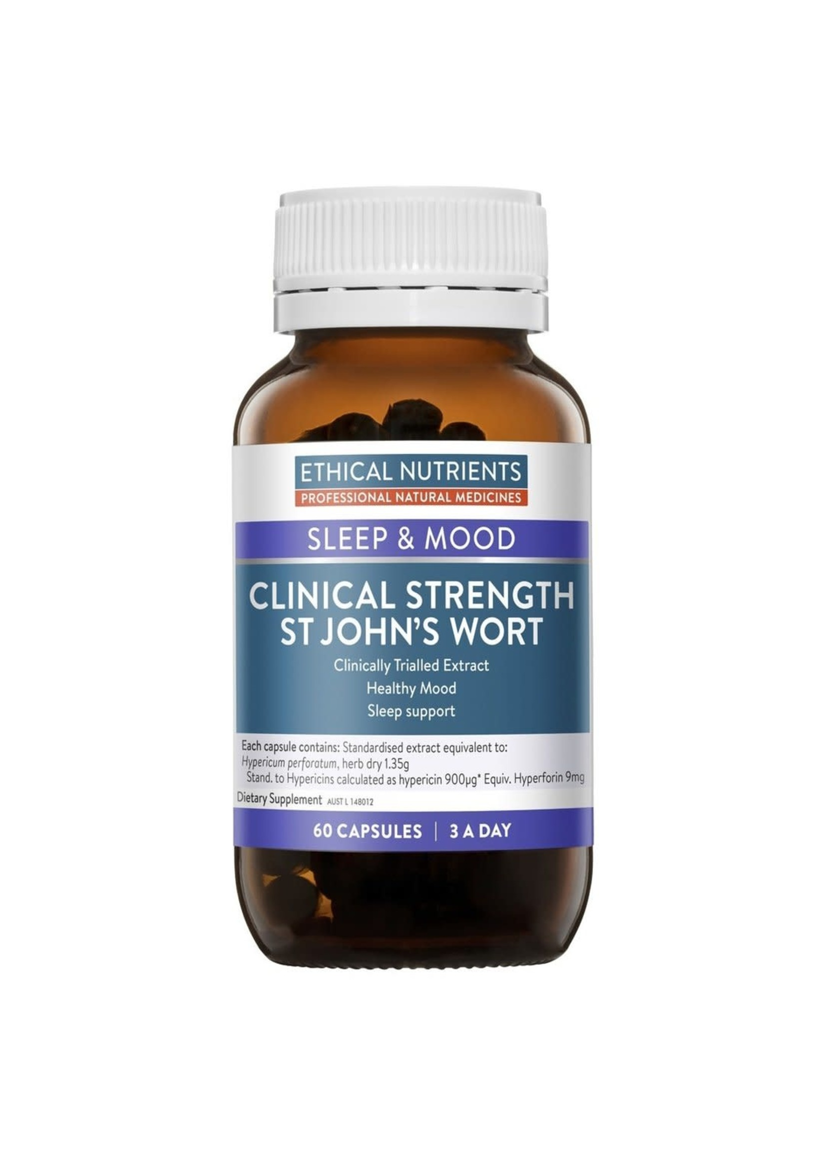 ETHICAL NUTRIENTS Ethical Nutrients Clinical Strength St John's Wort 60 caps