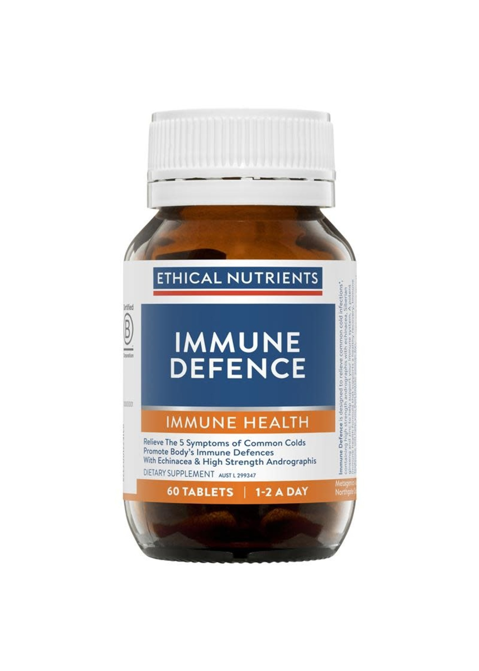 ETHICAL NUTRIENTS Ethical Nutrients Immune Defence 60 tabs