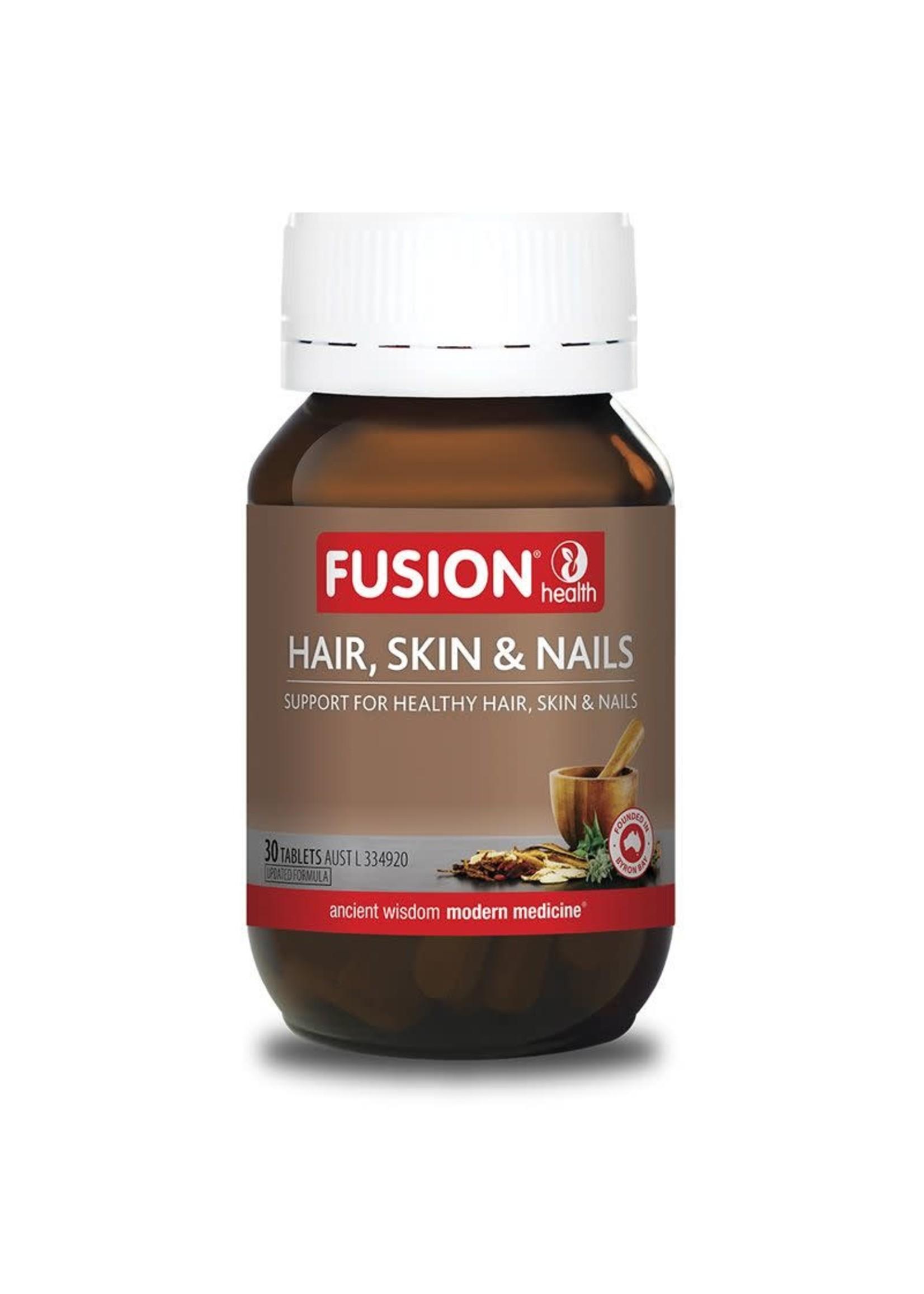 Fusion Fusion Health Hair Skin & Nails 30 tabs