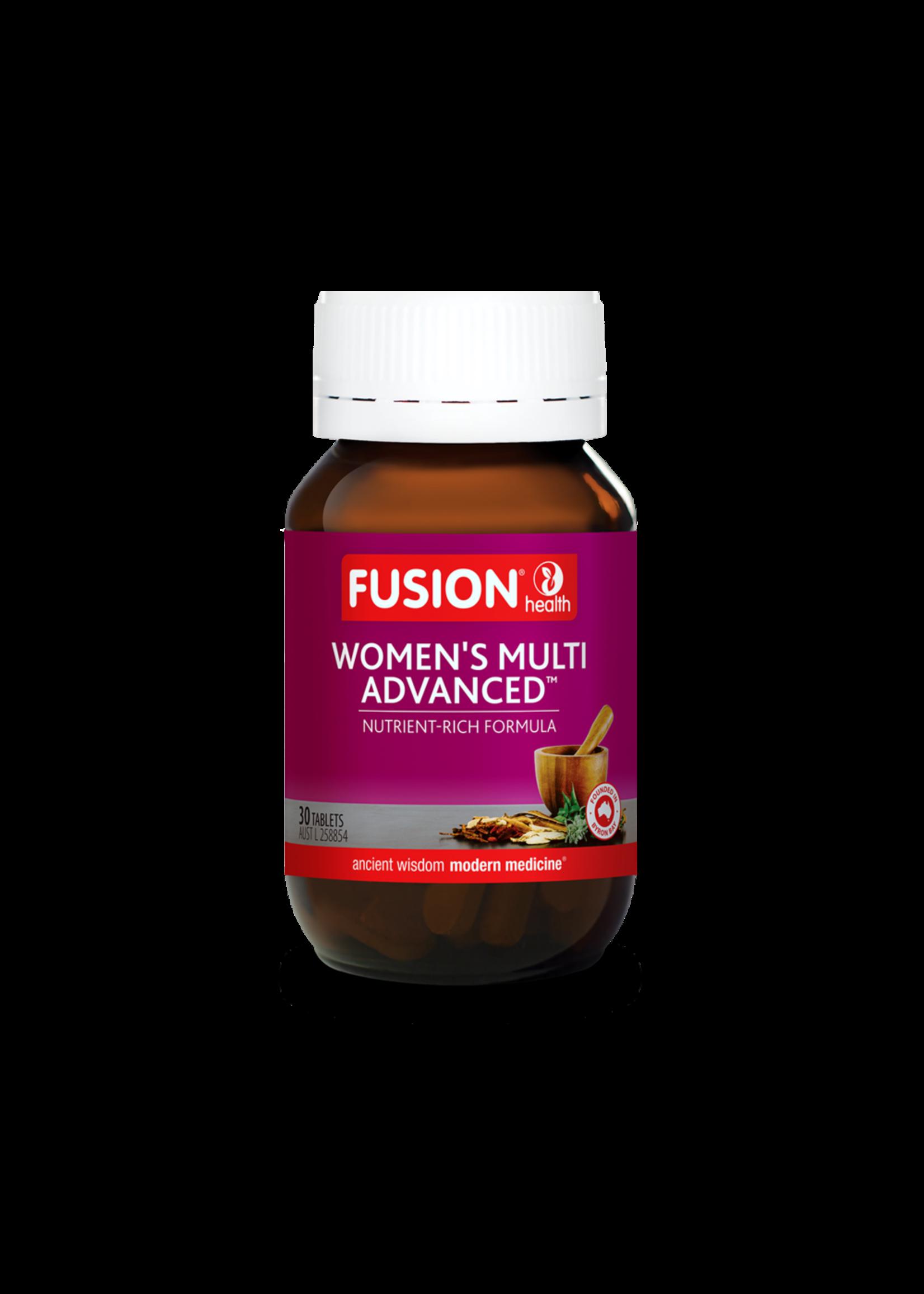 Fusion Fusion Health Womens Multi Adv 30 tabs