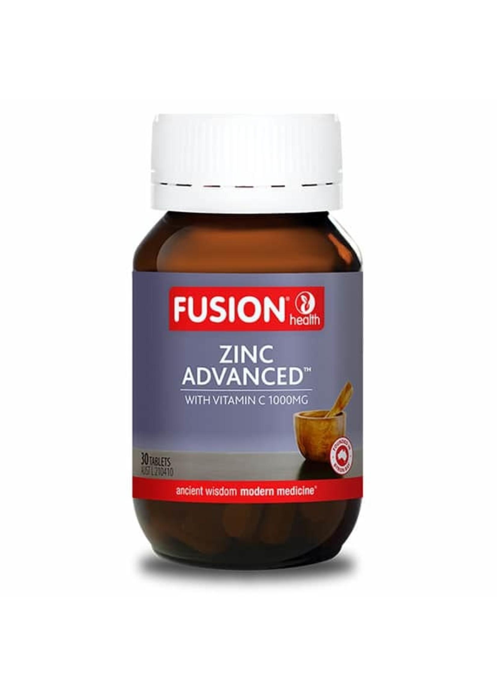 Fusion Fusion Health Zinc Advanced 30 tabs