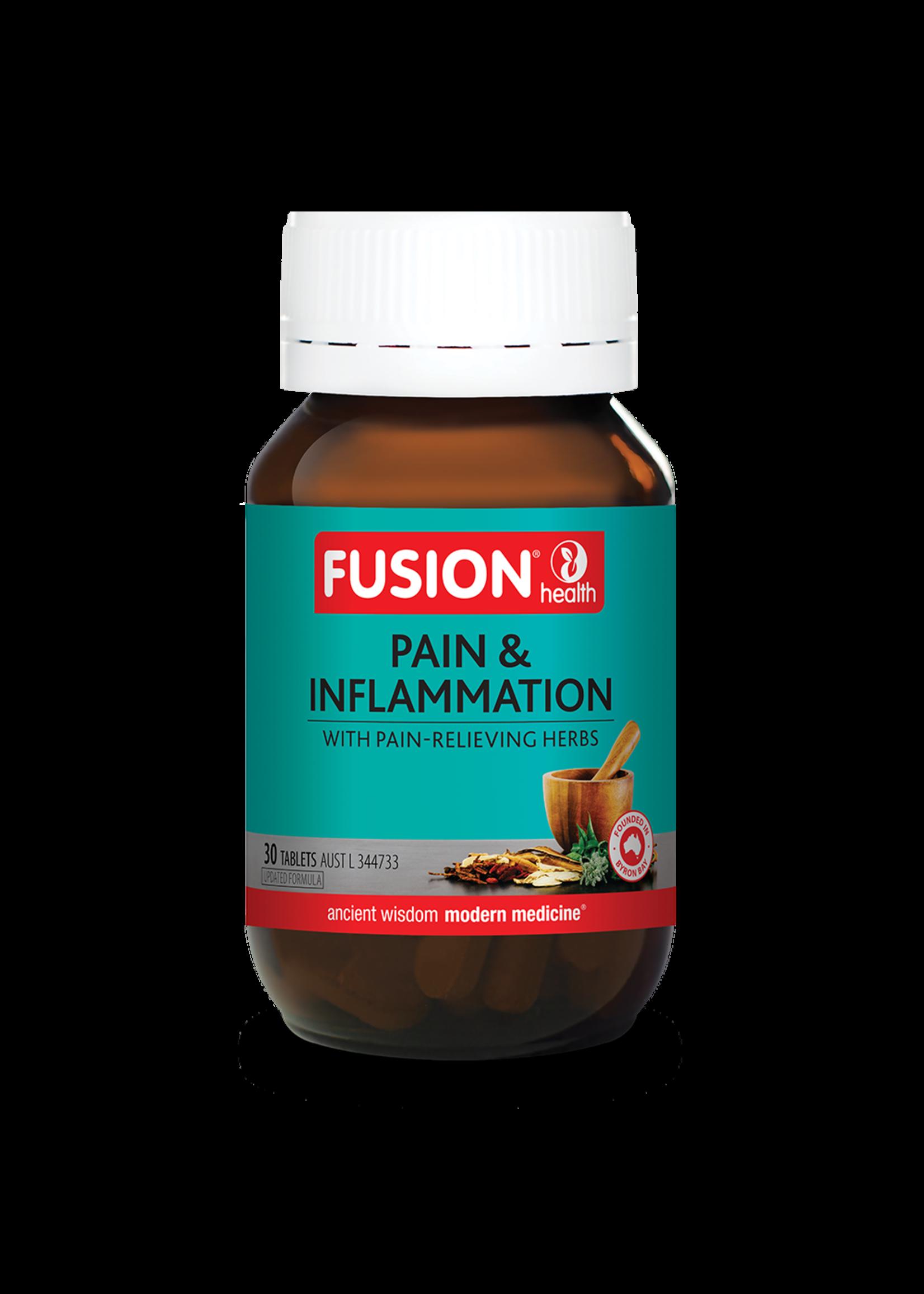 Fusion Fusion Pain & Inflammmation 30 tabs