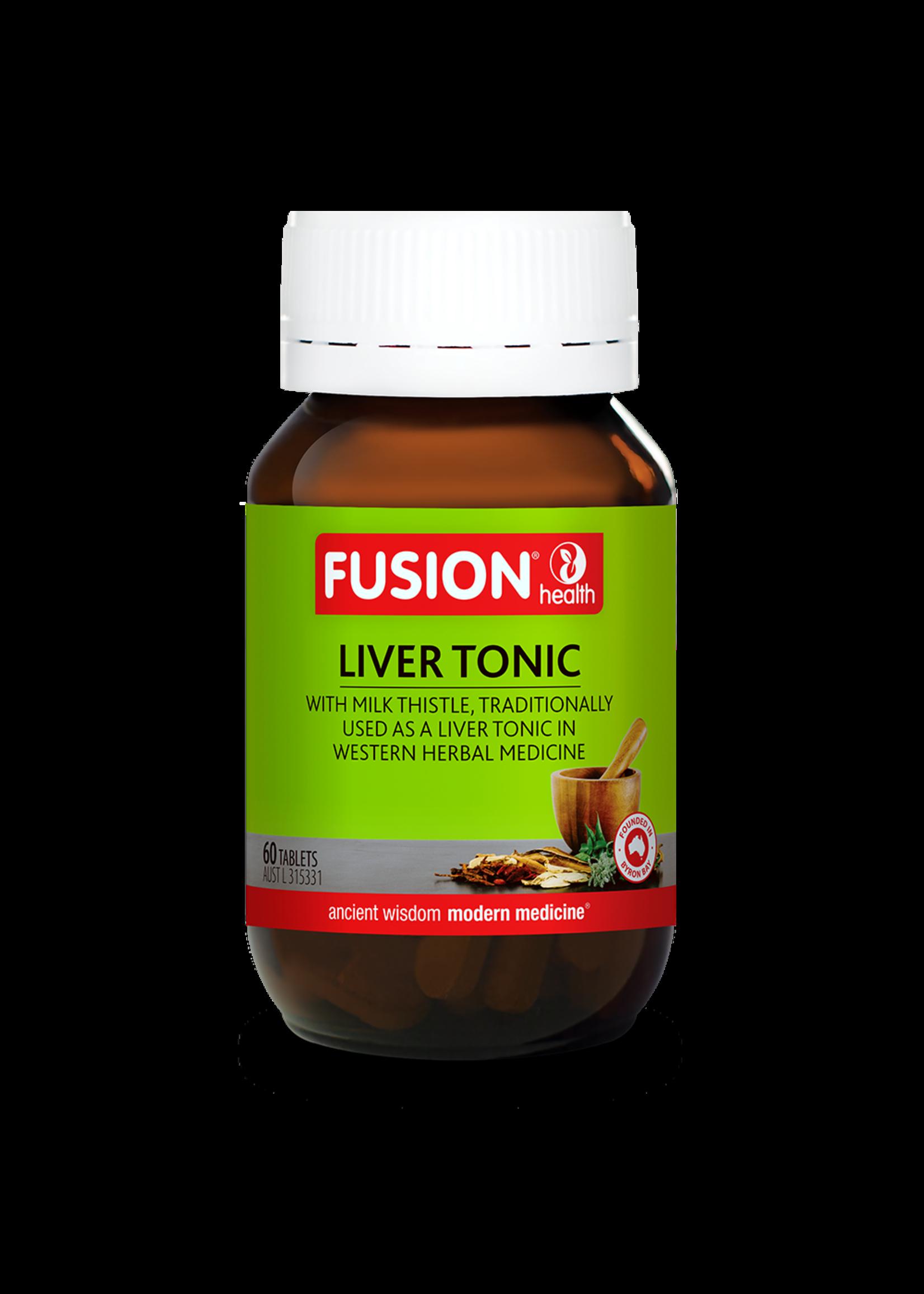 Fusion Fusion  Liver Tonic 60 tabs